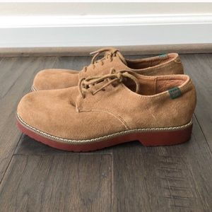 Nubuck School Uniform Shoe